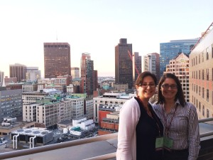 Andrea and Noelia in Boston